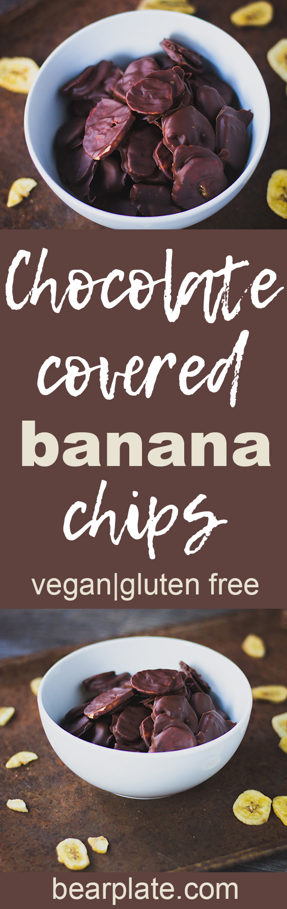 DELICIOUS!!! Chocolate Covered Banana Chips! #vegan #glutenfree #plantbased