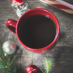 YUMMY! Candy cane hot chocolate! Perfect holiday treat! #vegan #glutenfree #chocolate #drinks #hotchocolate #recipe