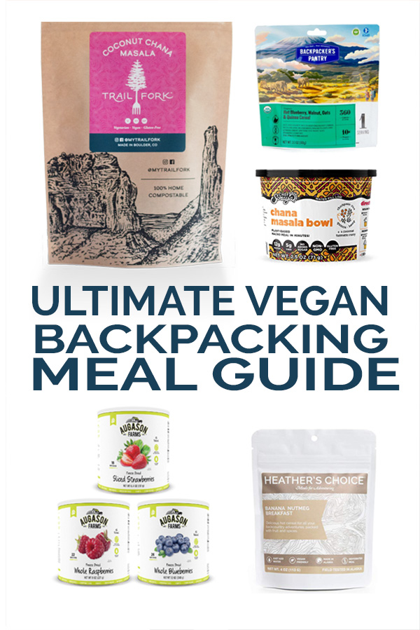 Vegan Backpacking Meal Guide