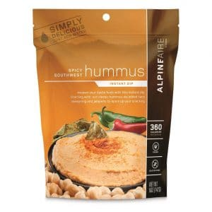 Hummus, a vegan backpacking lunch ideas