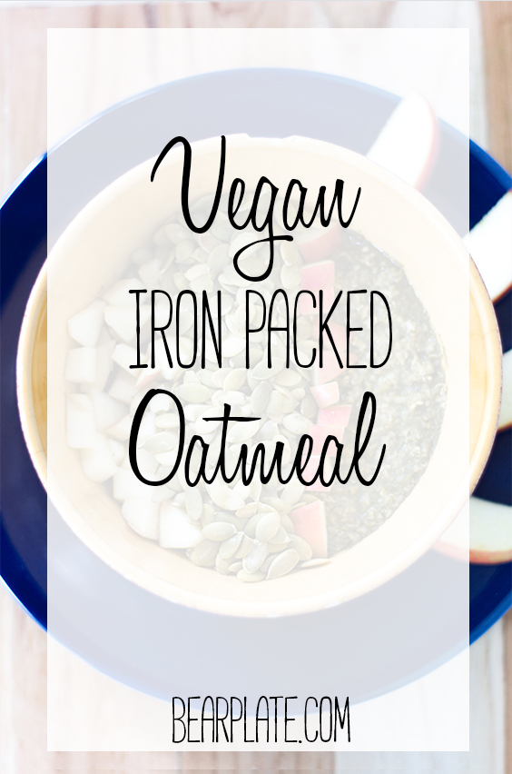 Iron Packed Oatmeal