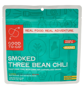 REI backpacking meal: Good To Go chili