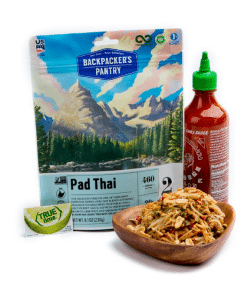 Freeze-dried Vegan Pad Thai from Backpacker's Pantry