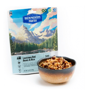 Backpackers Pantry vegan gluten-free food Mexican Beans and Rice