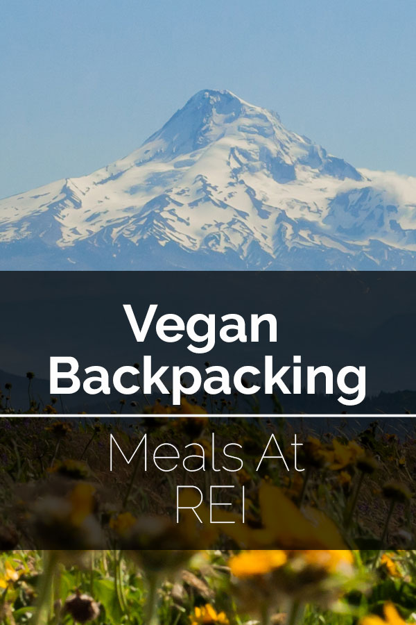 Vegan Backpacking Meals At REI