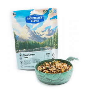 Freeze-dried stew for thru hikes