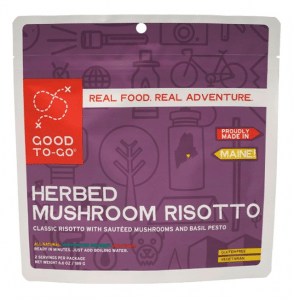 REI backpacking dried risotto dinner