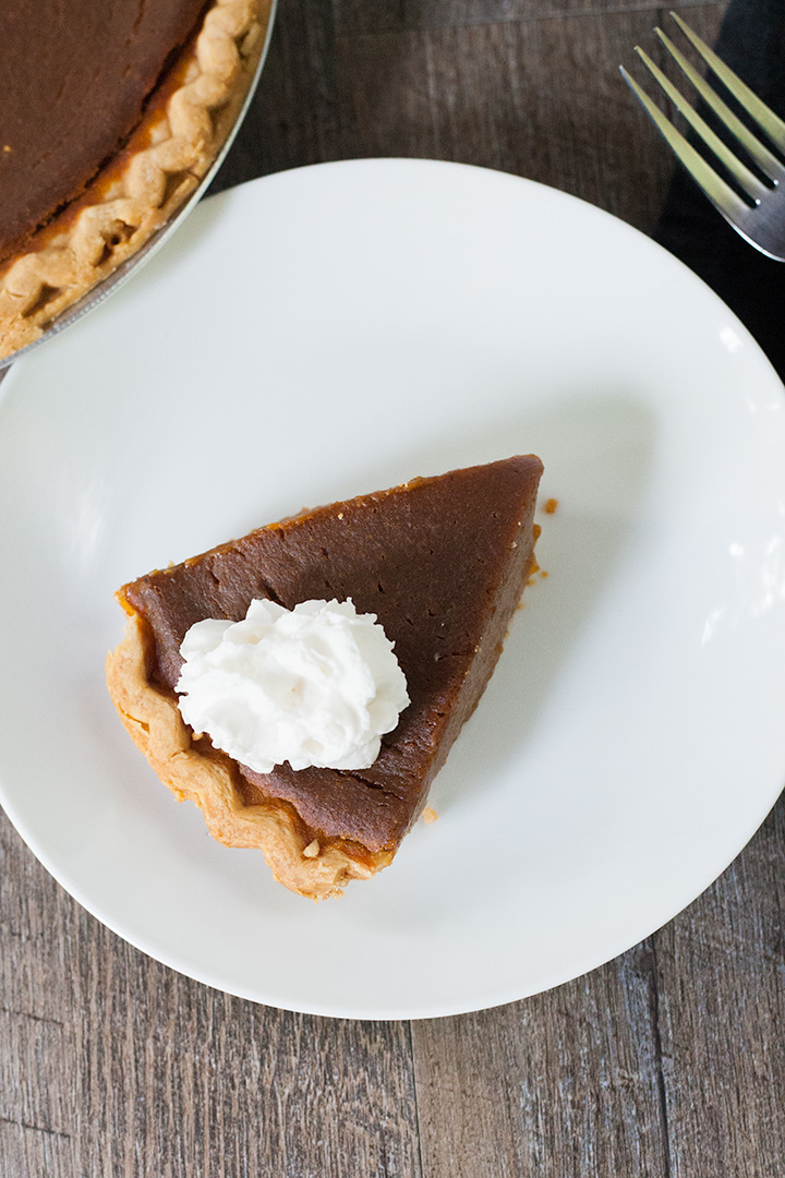 Vegan Thanksgiving pie