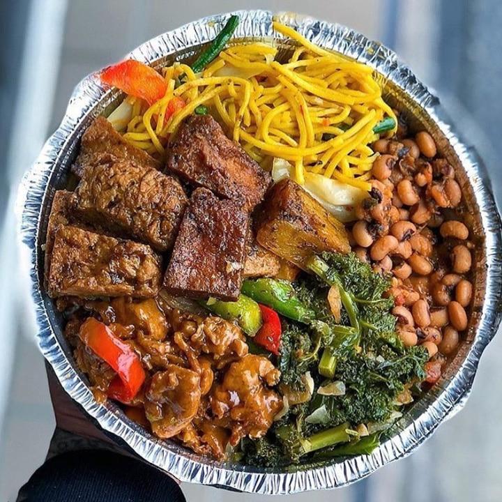 Best vegan restaurants in South Richmond Hill New York: Veggie Castle Vegan plate