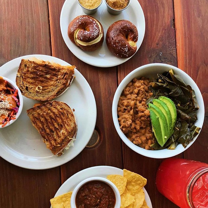 Oregon plant-based restaurants: Bye And Bye in Portland