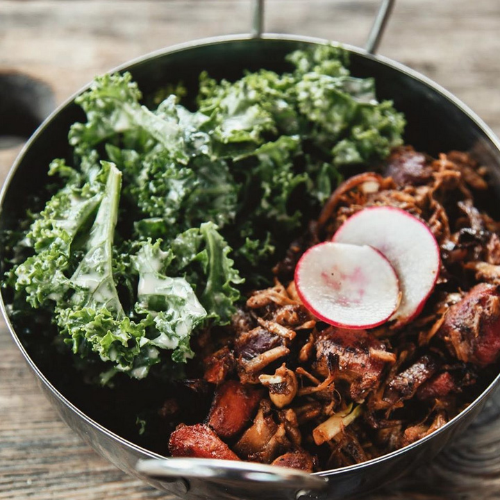 The best plant-based places in Oregon: The Sudra in Portland