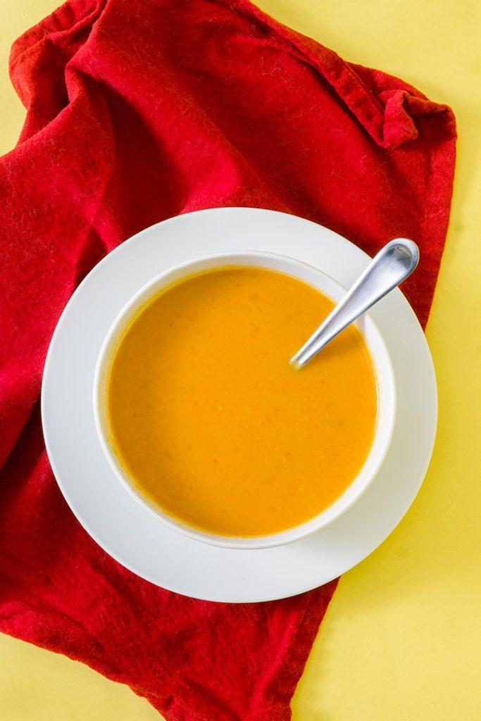 One-Pot Pumpkin Curry Soup (vegan and gluten free)