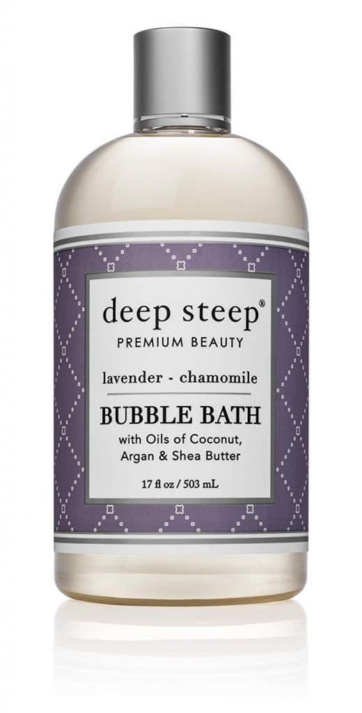 Vegan gift ideas: Deep Steep Bubble Bath