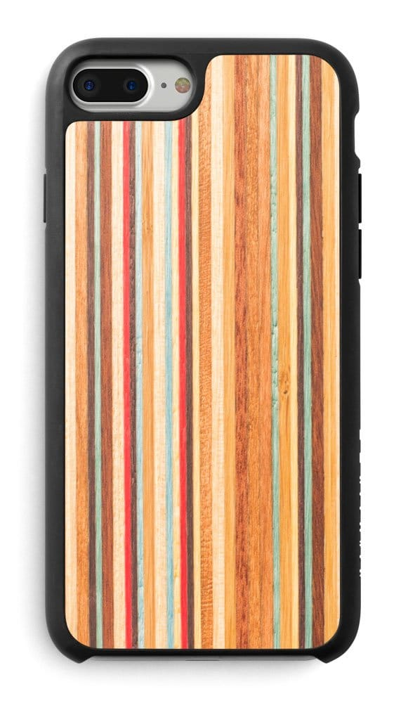 Skateboard wood iPhone case