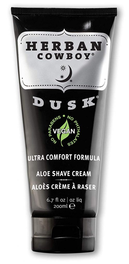 Christmas gift idea: Herban Cowboy vegan shave cream.