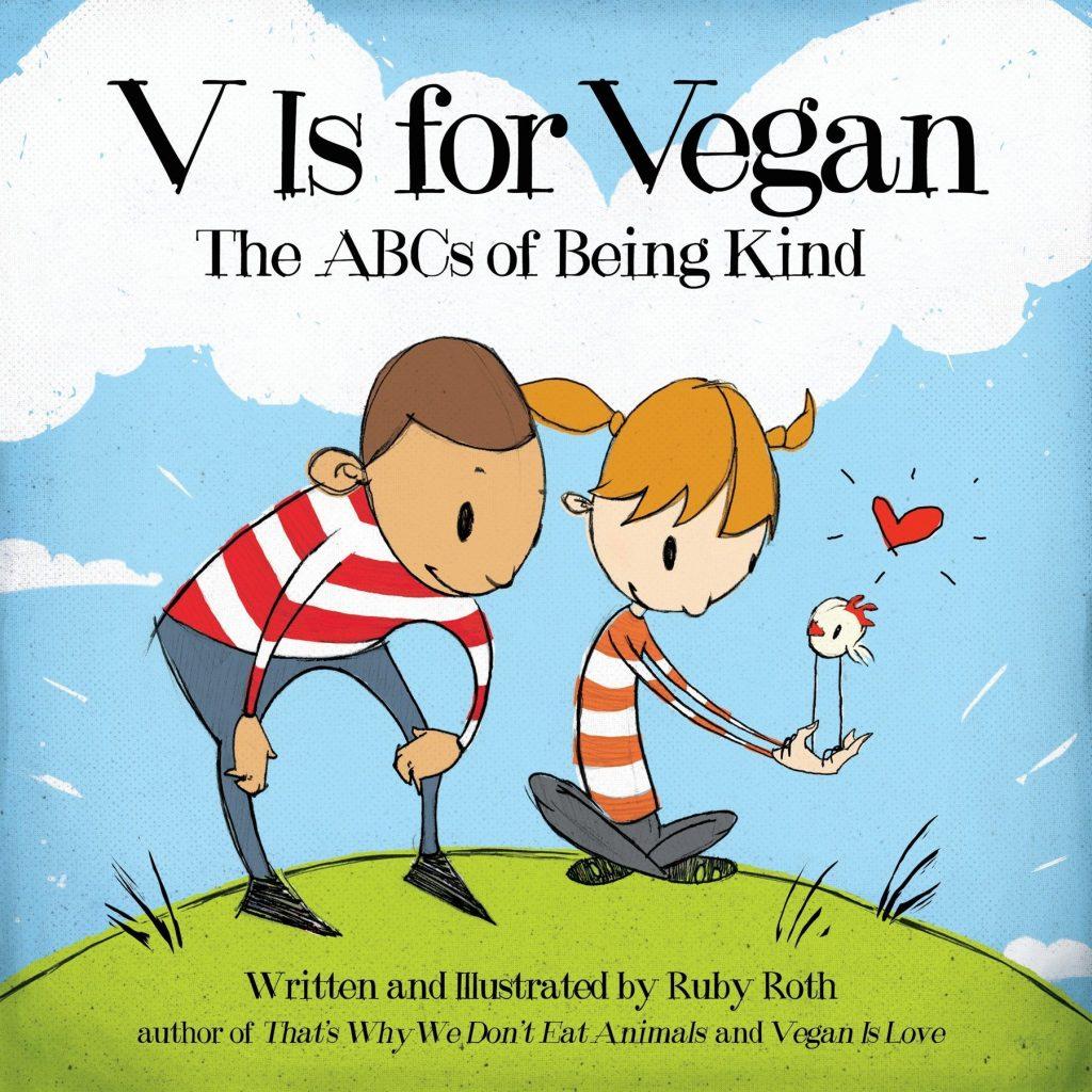 Christmas gift idea: V Is For Vegan