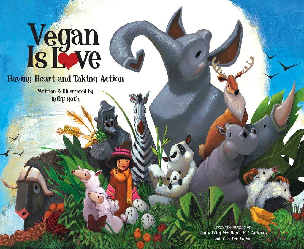 Christmas gifts: Vegan Is Love