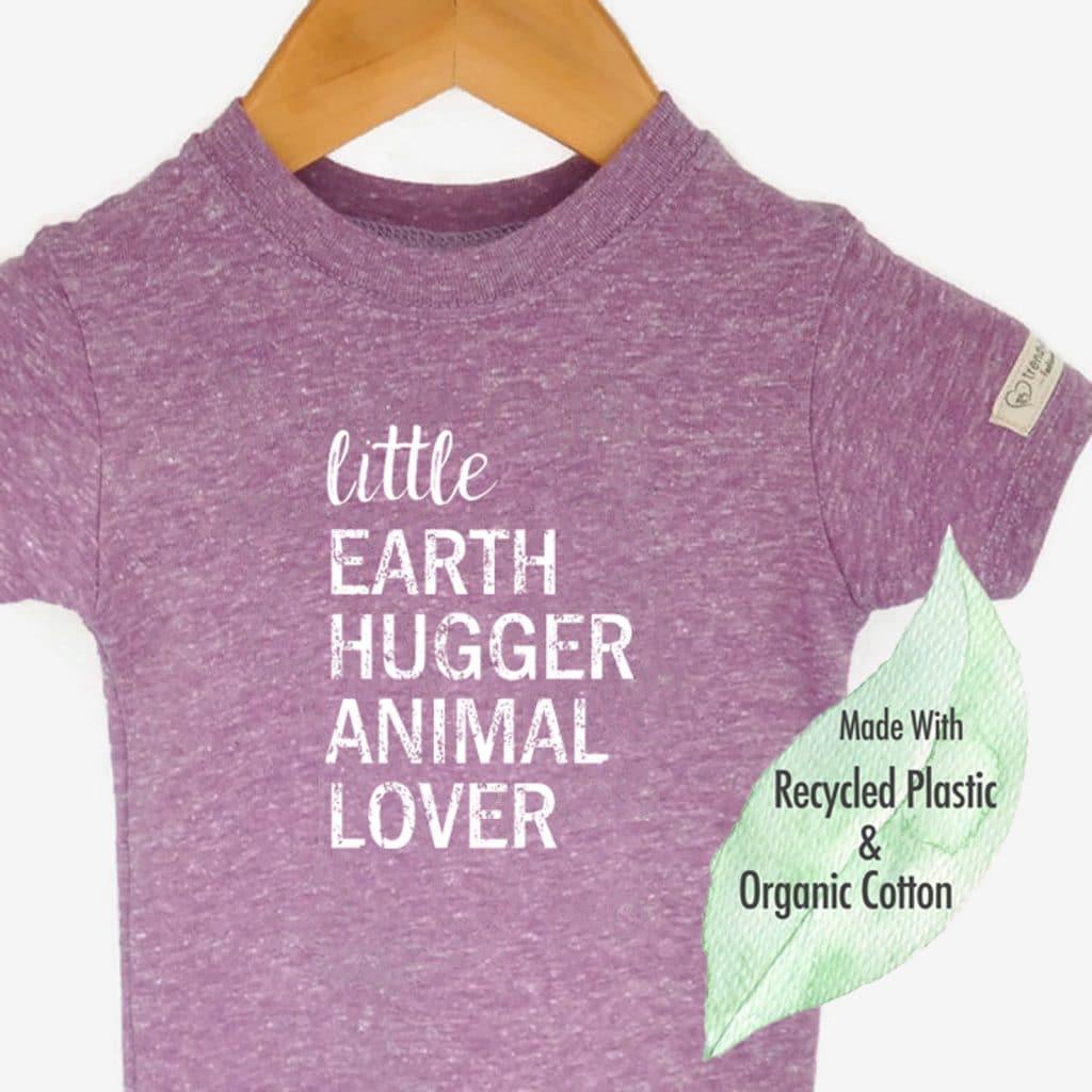 Vegan gifts: Little earth hugger tee