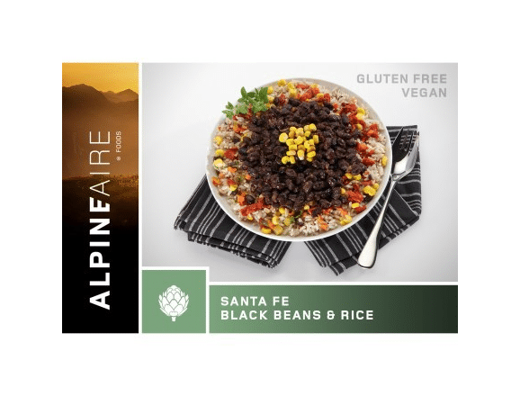 Backpacking beans and rice