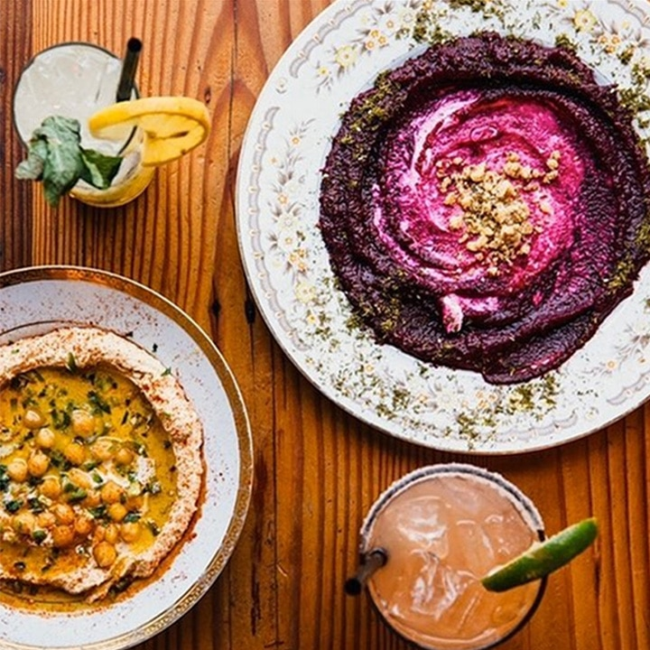 Food from Aviv in Portland Oregon.