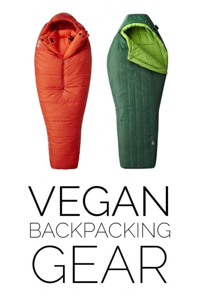 vegan backpacking gear