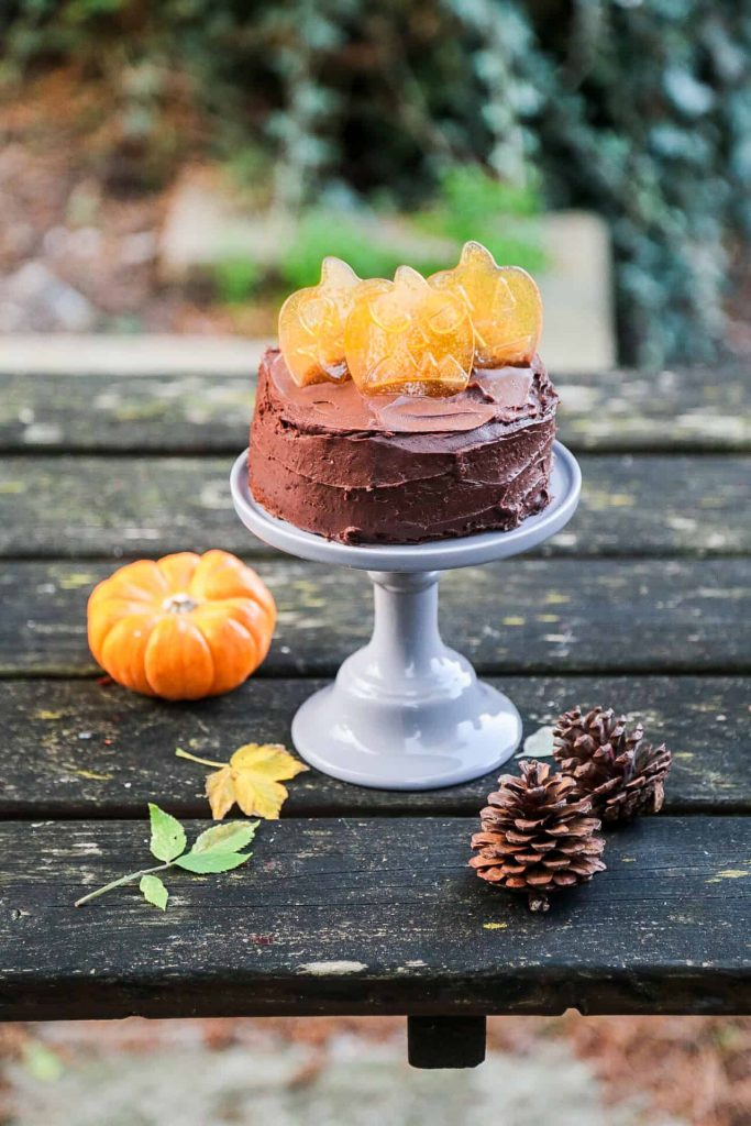 Vegan Recipes For Chocolate Lovers: cake with buttercream frosting